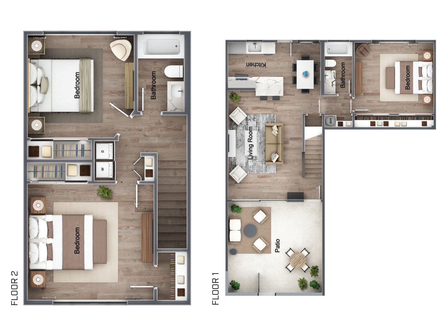 Floor Plans The Citizen South Bay On Anza